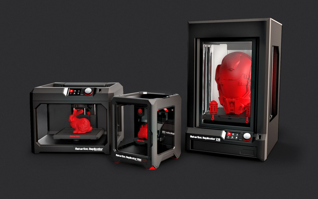 There are now 100,000 MakerBot 3D Printers Sold Worldwide