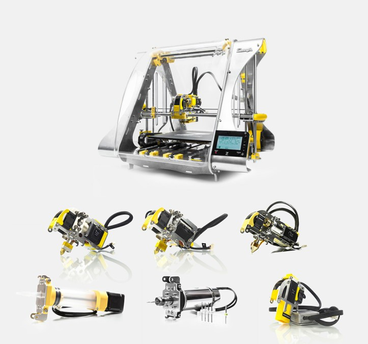 Buy ZMorph 2.0 S Hybrid 3D Printers Directly From Singapore!